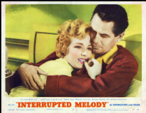 Interrupted Melody 1955 DVD - Glenn Ford / Eleanor Parker